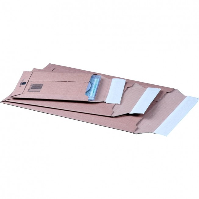 Versandtasche aus Wellpappe, A5, 187 × 272 × 50 mm