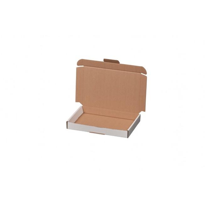 Maxibriefkarton weiß Größe 3 für 330 × 242 × 45 mm