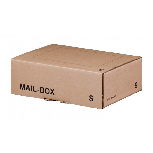 Mail-Box S für 249 × 175 × 79 mm in Braun