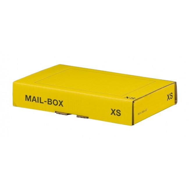 Mail-Box XS für 244 × 145 × 43 mm in Gelb