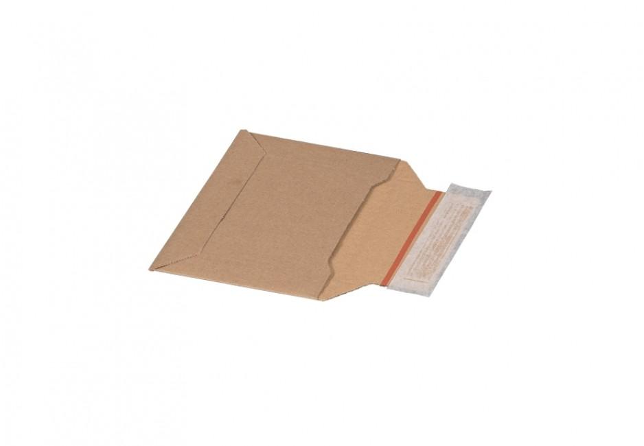 Versandtasche aus Wellpappe, Kompaktbrief, 177 × 120 × 48 mm