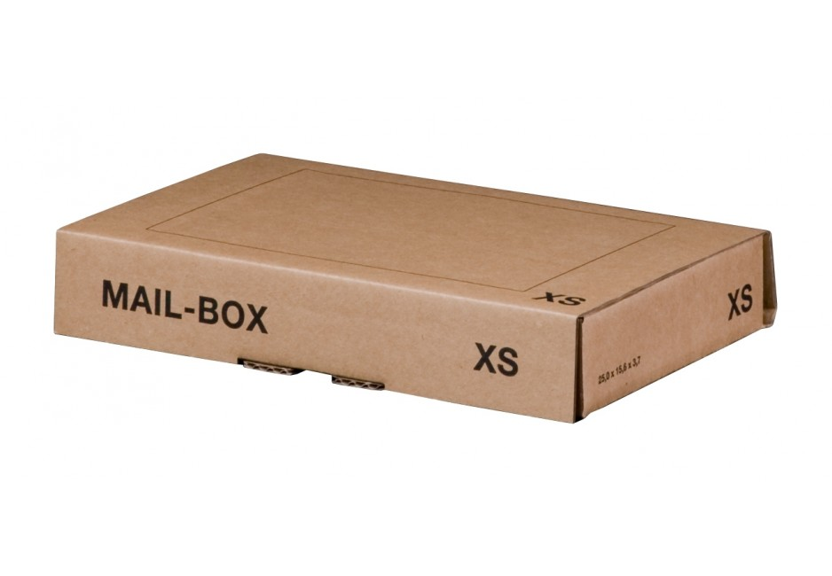 Mail-Box XS für 244 × 145 × 43 mm in Braun