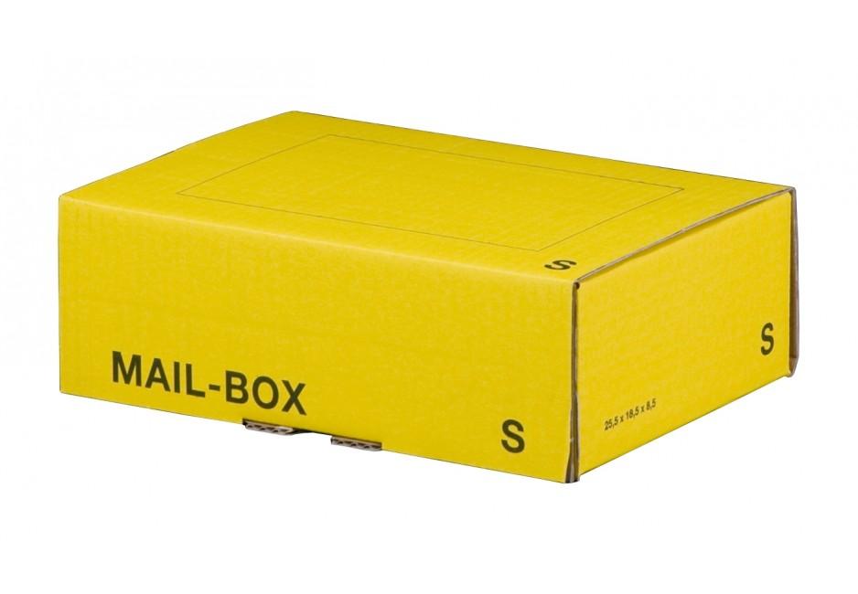 Mail-Box S für 249 × 175 × 79 mm in Gelb