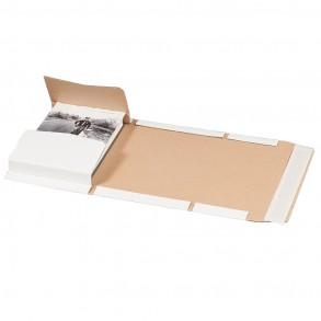 Universalverpackung weiß, A5, 217 × 155 × 60 mm