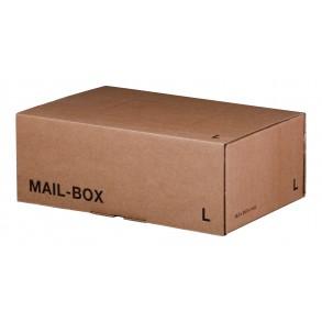 Mail-Box L für 395 × 248 × 141 mm in Braun
